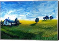 Countryside Cottage Fine-Art Print