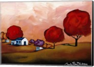 The Red Trees Fine-Art Print