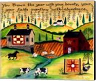 Country Harvest Dream Lang Fine-Art Print