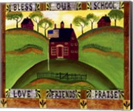 Bless our School Fine-Art Print