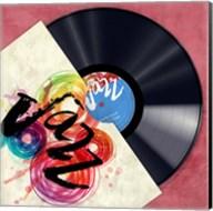 Vinyl Club, Jazz Fine-Art Print