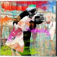 Kissing the War Goodbye 2.0 (detail) Fine-Art Print