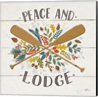 Peace and Lodge IV Fine-Art Print