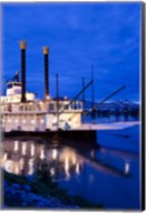 Mississippi, Natchez Isle of Capri, riverboat Fine-Art Print