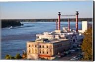 Mississippi, Ameristar Casino, Mississippi River Fine-Art Print