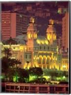 Principality of Monaco, Monte Carlo, Monaco Fine-Art Print