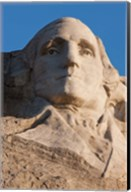 South Dakota, Mount Rushmore, George Washington Fine-Art Print