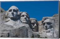 Blue Skies over Mount Rushmore, South Dakota Fine-Art Print