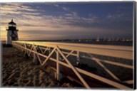 Brant Point Light at Sunrise, Nantucket Island, Massachusetts Fine-Art Print