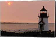 Brant Point lighthouse, Nantucket Fine-Art Print