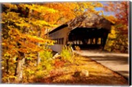 Albany Covered Bridge, New Hampshire Fine-Art Print