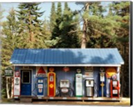 Gas station, New Hampshire Fine-Art Print