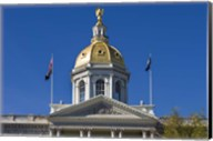 New Hampshire, Concord, New Hampshire State House, exterior Fine-Art Print