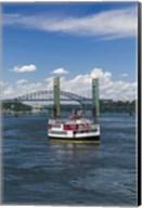 New Hampshire, Portsmouth, harbor ferry, Portsmouth Harbor Fine-Art Print