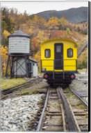 New Hampshire, White Mountains, Bretton Woods, Mount Washington Cog Railway Fine-Art Print