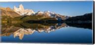 Mt Fitzroy Reflections, Laguna Capri, Argentina Fine-Art Print
