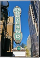 Portland Landmark Sign, Portland, Oregon Fine-Art Print