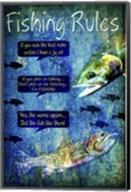 Fishing Rules Fine-Art Print