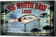 Fishing - Big Mouth Lodge Fine-Art Print