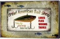 Fishing - Bait Shop Fine-Art Print