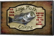 Large Mouth Cavern II Fine-Art Print