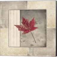 Lodge Leaf Tile 1 Fine-Art Print