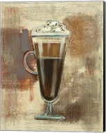 Cafe Classico I Neutral Fine-Art Print