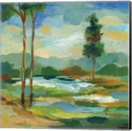 Early Spring Landscape I Fine-Art Print