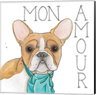 Puppy Love Frenchie Color Fine-Art Print