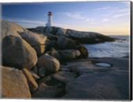 Peggys Cove Lighthouse, Nova Scotia, Canada Fine-Art Print