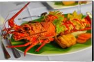 Lobster Dish, Fiji Fine-Art Print