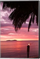 Tropical Sunset, Beqa Island, Fiji Fine-Art Print