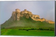 Spissky Hrad in Mist, Slovakia Fine-Art Print