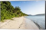White sandy beach, Fiji Fine-Art Print