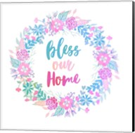 Bless Our Home -Pastel Fine-Art Print