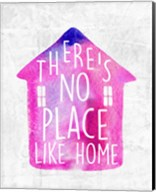 There's No Place Like Home-Watercolor Fine-Art Print