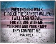 Psalm 23:4 Fine-Art Print
