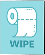 Boy's Bathroom Task-Wipe Fine-Art Print