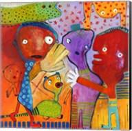 Colourfull Mars Men II Fine-Art Print
