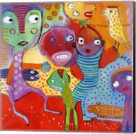 Colourfull Mars Men IV Fine-Art Print