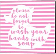 Hand Washing Fine-Art Print