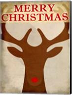 Reindeer Christmas Fine-Art Print