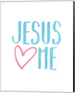Jesus Loves Me Fine-Art Print