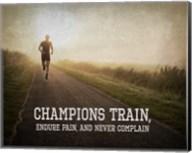 Champions Train Man Color Fine-Art Print