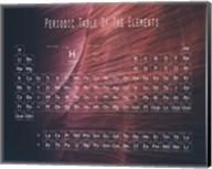 Periodic Table Canyon Wall Fine-Art Print