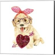 Valentine Puppy IV Fine-Art Print