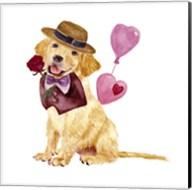Valentine Puppy V Fine-Art Print