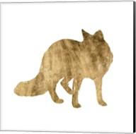 Brushed Gold Animals III Fine-Art Print