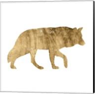 Brushed Gold Animals IV Fine-Art Print