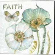 My Greenhouse Flowers Faith Fine-Art Print